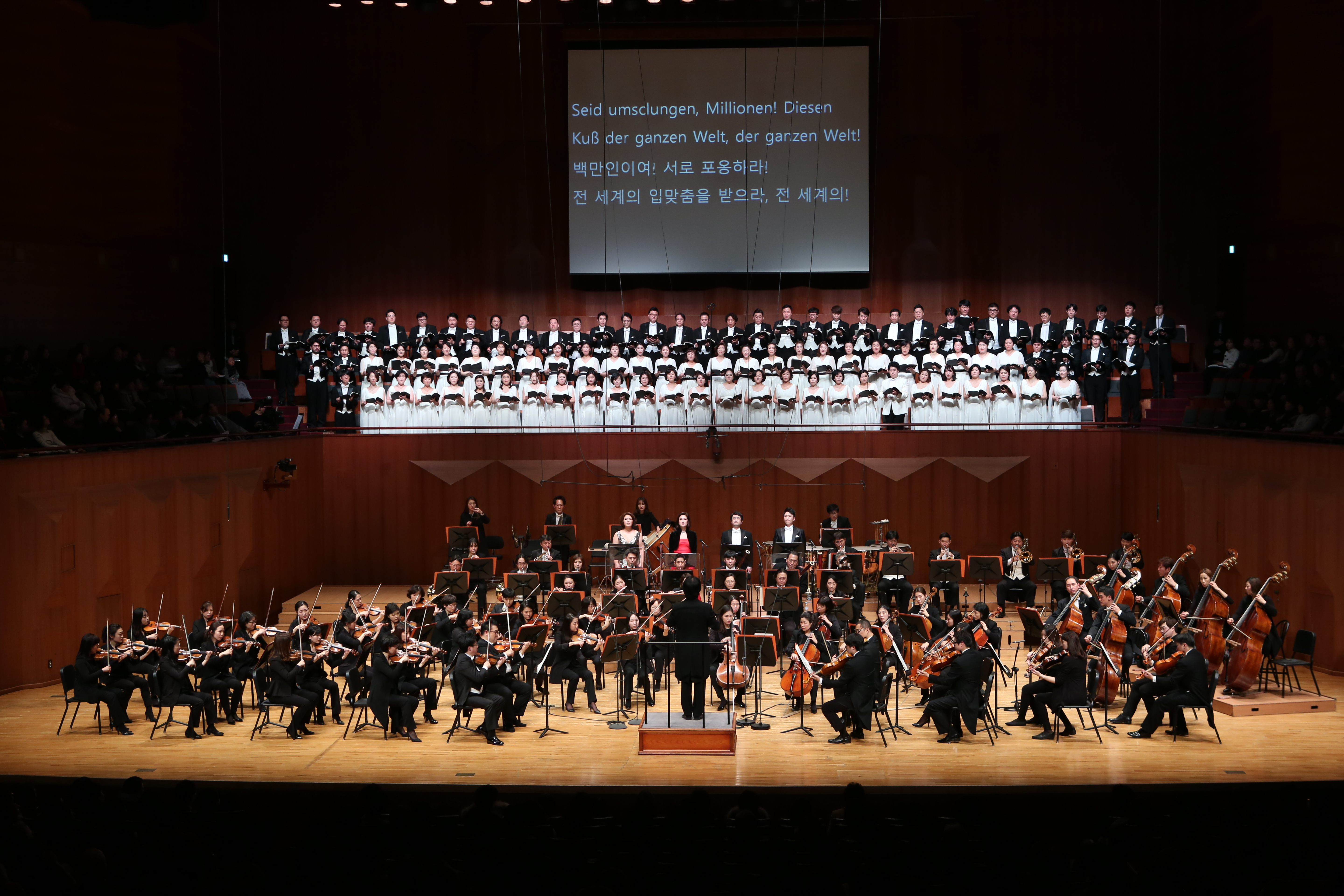 2017 New Year's Eve concert 〈9th Symphony〉